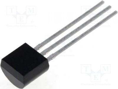 2N5551 Транзистор NPN биполярен 180V 0,6A 625mW TO92